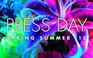 PRESS DAY SPRING SUMMER '15