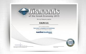 CALIN AE: DIAMONDS AWARD OF THE GREEK ECONOMY