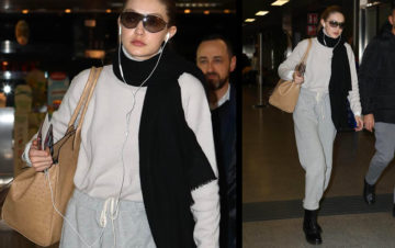 GIGI HADID SPOTTED IN FALCONERI