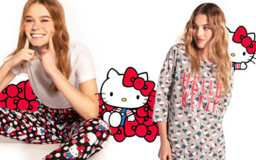TEZENIS CELEBRATES THE 45TH ANNIVERSARY OF HELLO KITTY WITH AN IRREVERENT COLLECTION